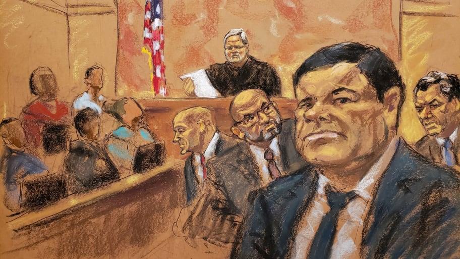 El Chapo Juror Says Multiple Members of Jury Followed Media Coverage of Trial