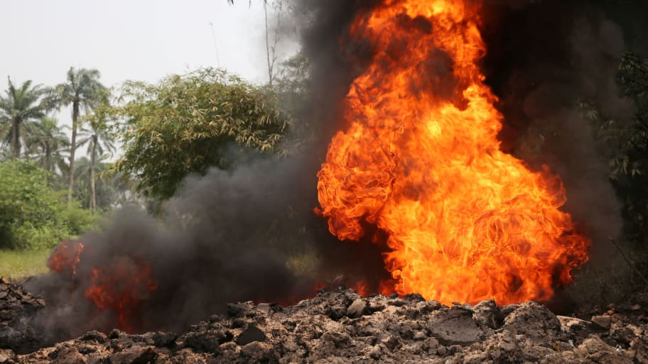 More that 50 missing after pipeline blast in Nigeria