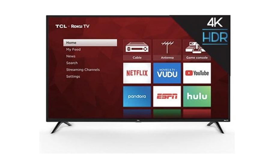 Get the TCL Ultra HD Roku Smart TV on Sale at Walmart
