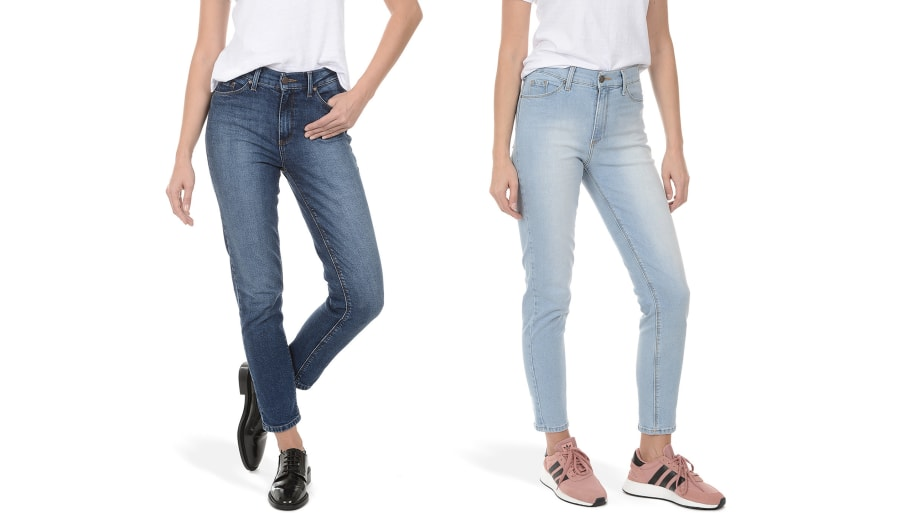 a43fd6058939 If You're Looking For Skinny Jeans That Will Flatter at Every Angle, the  Mott & Bow Ridge Mom Jeans Are Them