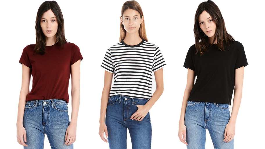 Mott & Bow's Crew Neck Tees Are All You'll Want To Wear