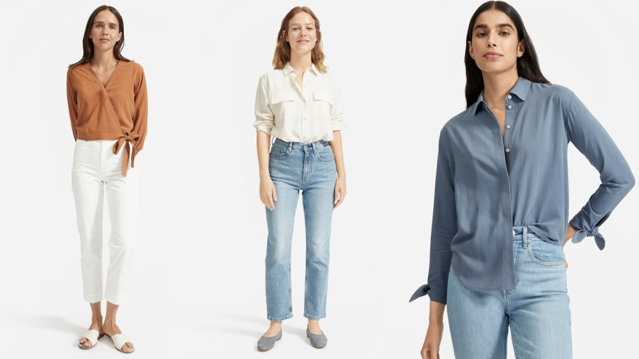 Everlane's New Washable Silk Shirts Are Fall Outfit Staples
