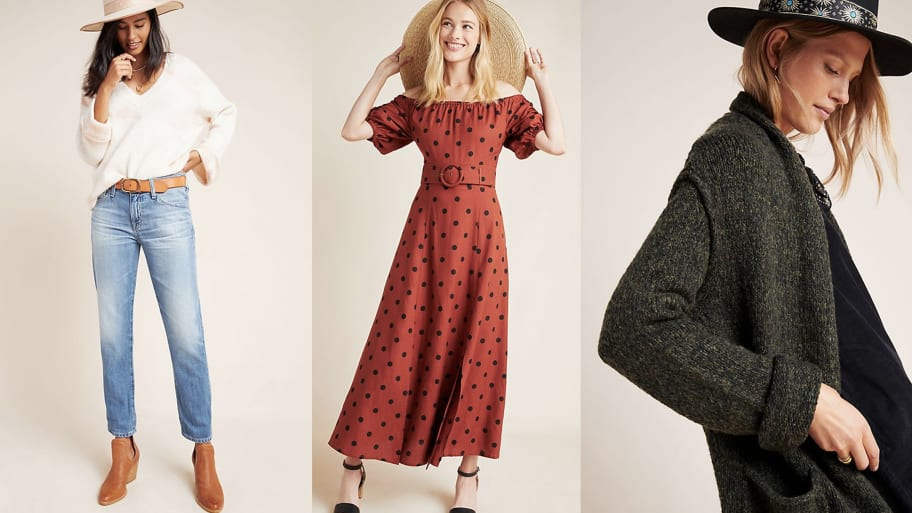 Anthropologie Is Taking an Extra 40% Off Sale Items