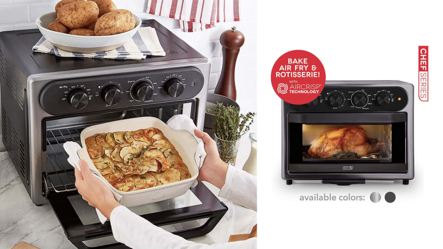 This New, Easy-to-Use 7-in-1 Convection Oven Does It All for Me, Including Air Frying