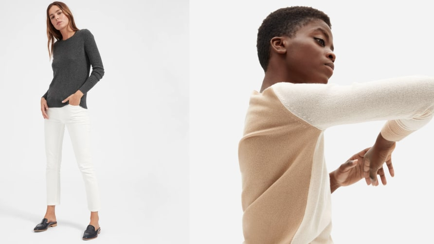 Everlane's Cashmere Sweaters Are on Sale for Both Men and Women