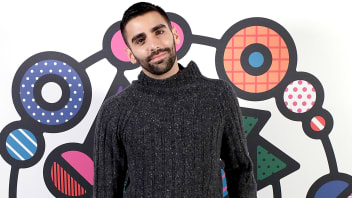 Phillip Picardi attends the welcome dinner during #BoFVOICES on Nov. 29, 2017, in Oxfordshire, England.