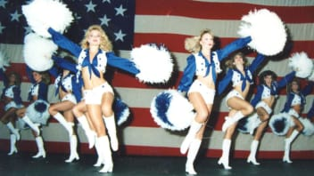 The Dallas Cowboys cheerleaders.
