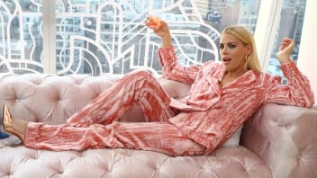 Actress Busy Philipps at The Standard East Village on April 10, 2018, in New