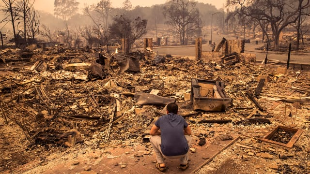 Searching for My Stepbrother in the Wildfires