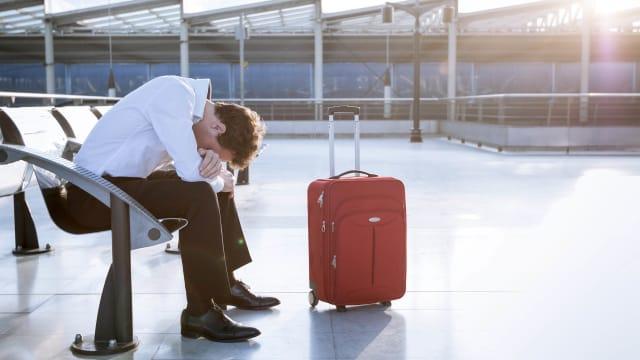 travel sadness sad depression anxiety post vacation blues