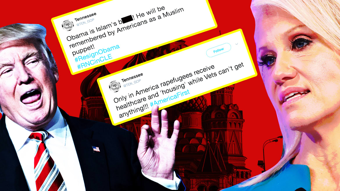 Trump Campaign Staffers Pushed Russian Propaganda Days Before the Election