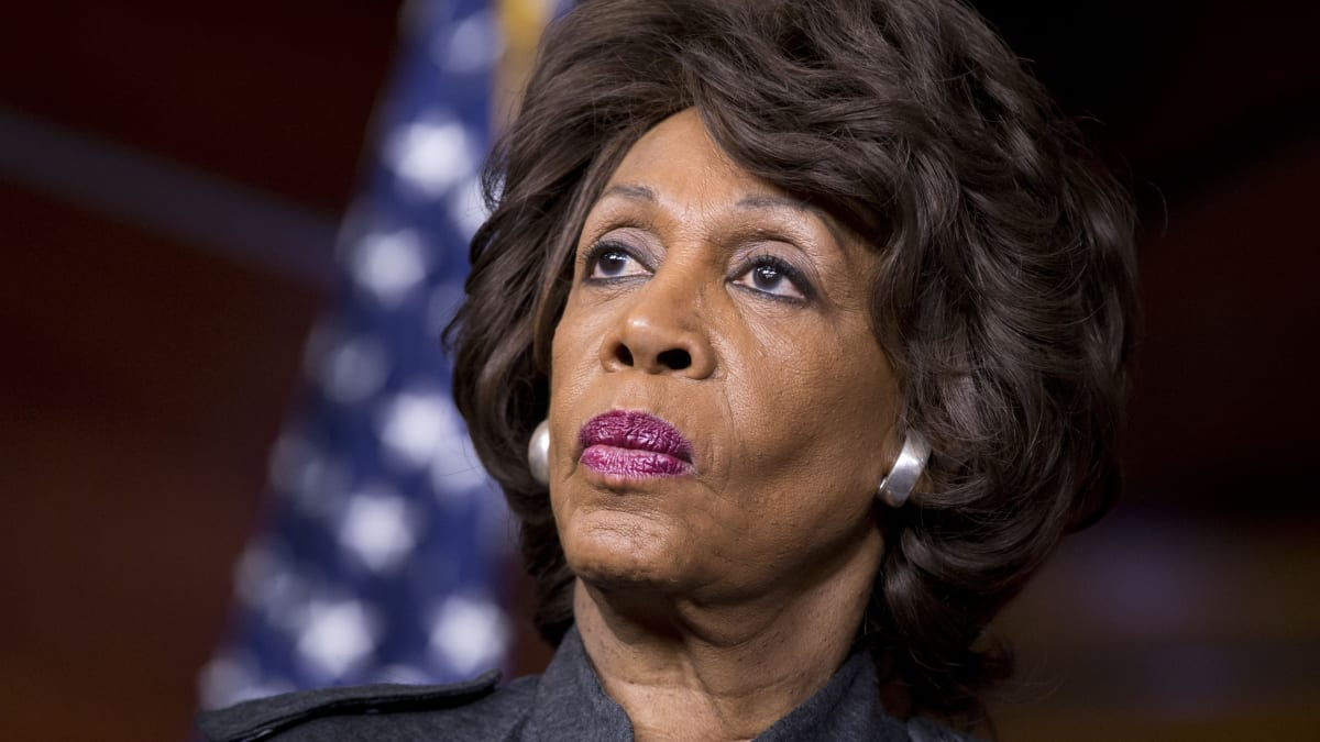 Russian Twitter Bot Targeted Maxine Waters, a Prominent Trump Impeachment Backer