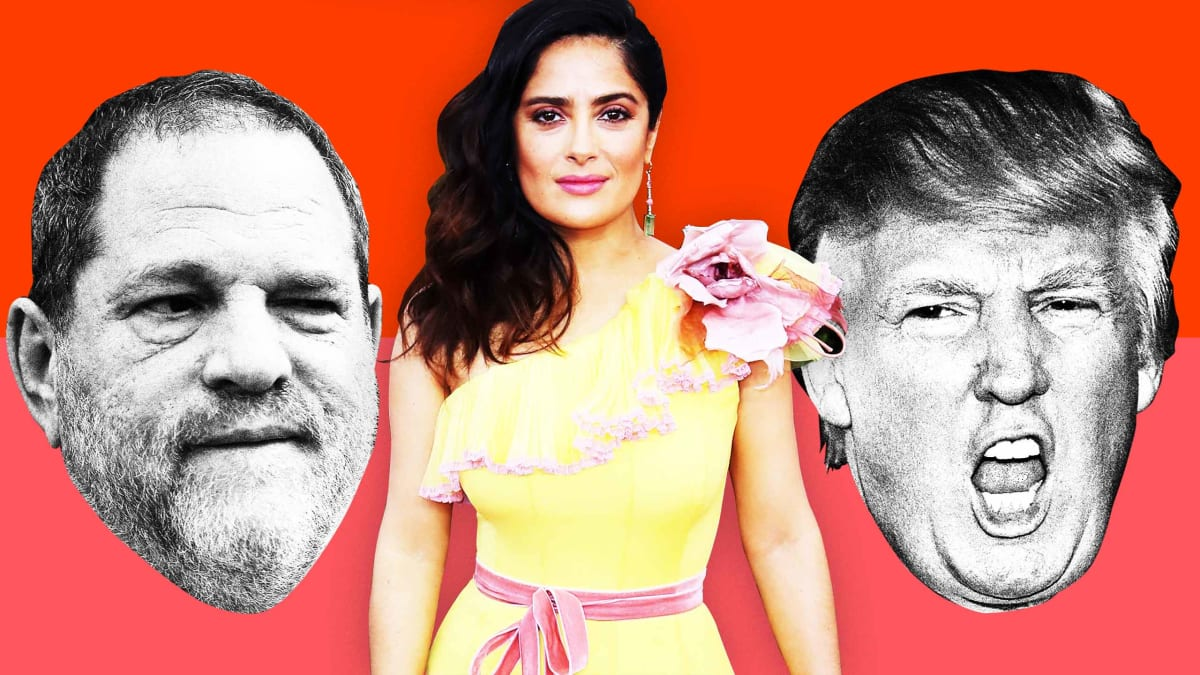 How Harvey Weinstein and Donald Trump Retaliated Against Salma Hayek