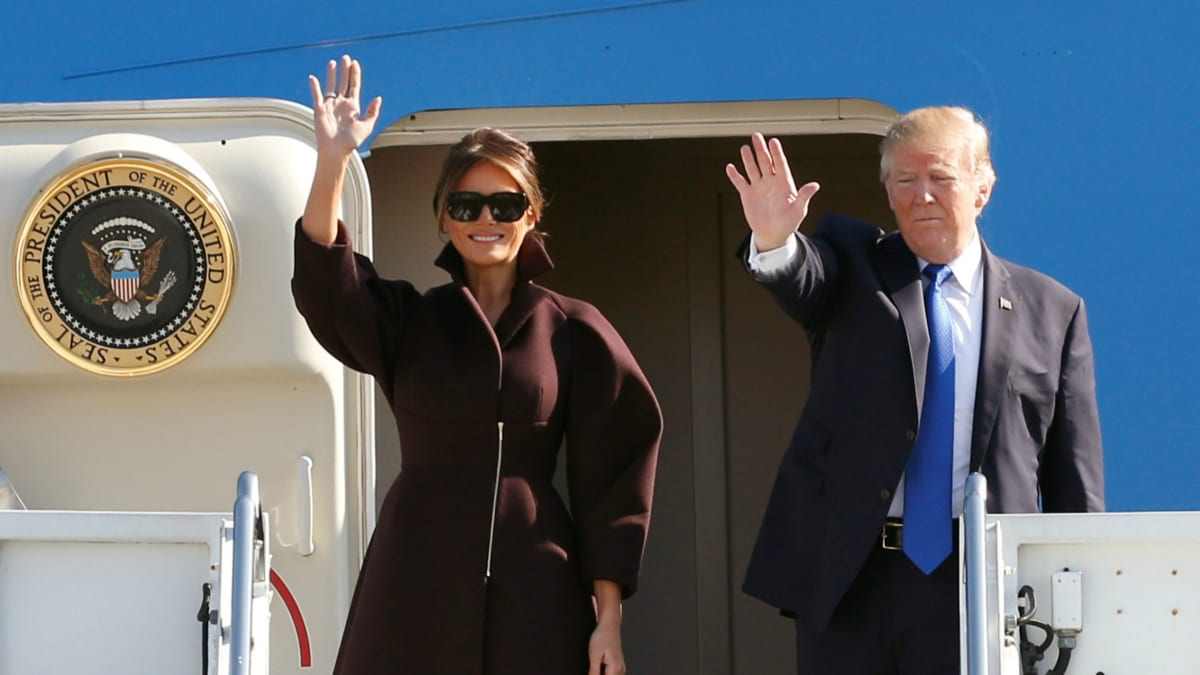 Air Force Spent $675K on Melania Trump's Flights Before White House Move