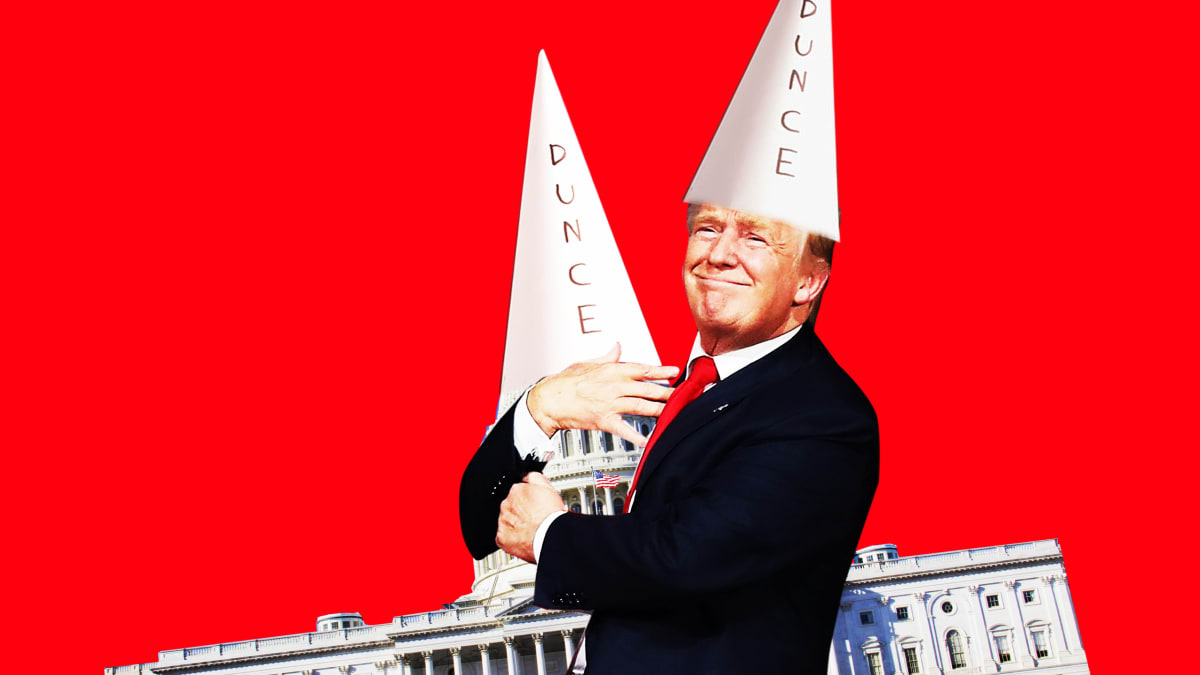 Trump Turns GOP Into a Conspiracy of Dunces