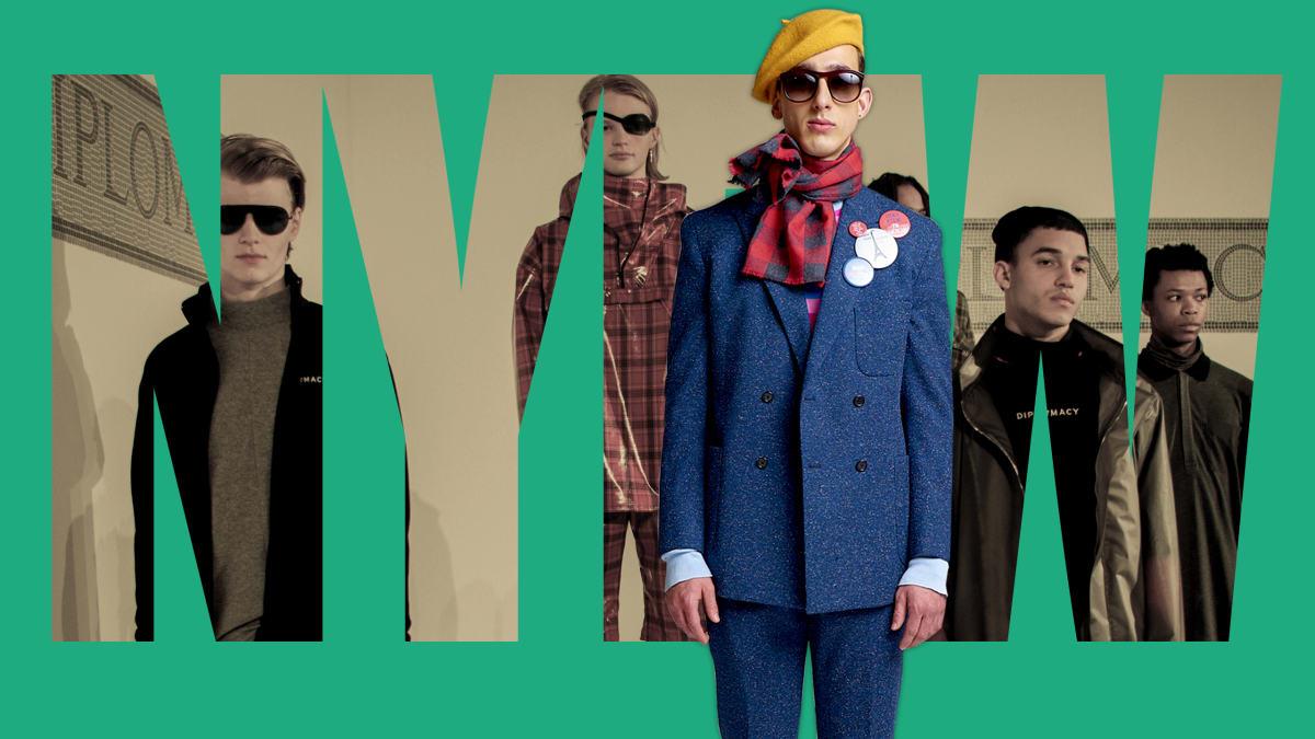 How New York Fashion Week Put Men First