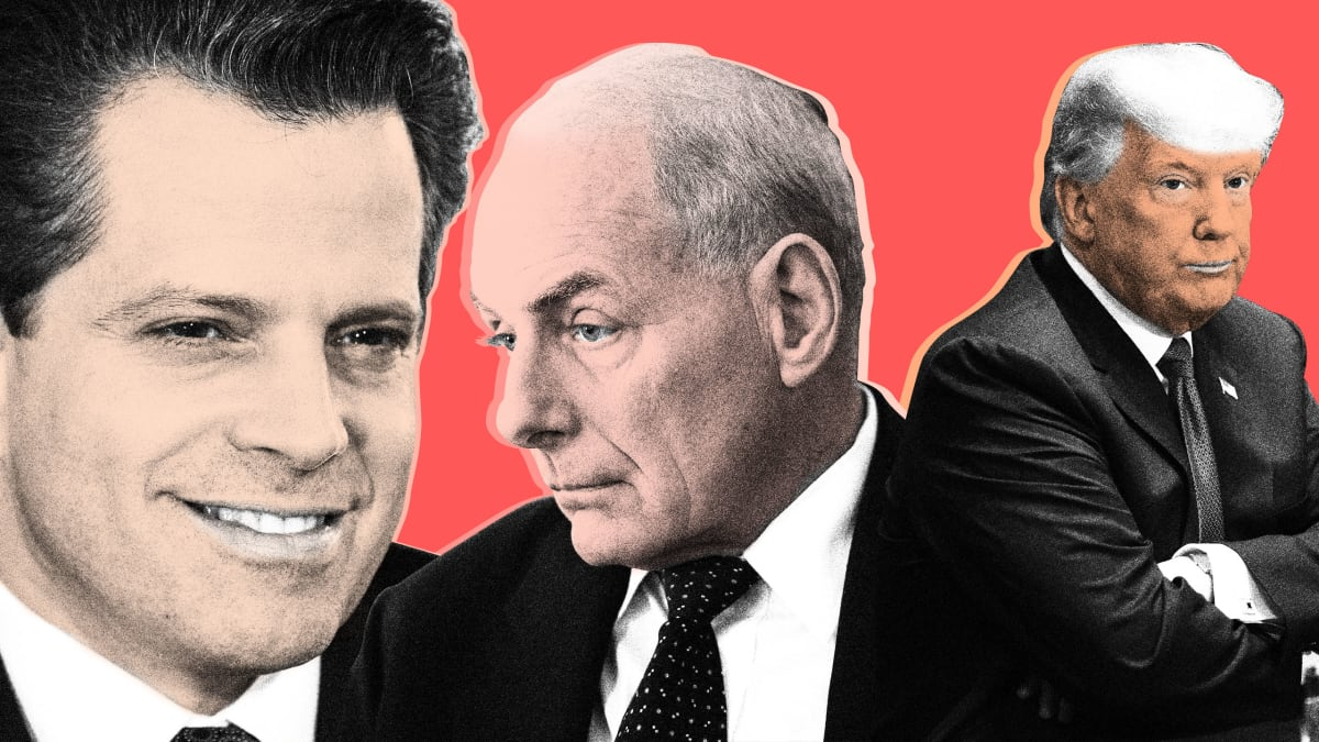 Anthony Scaramucci and the Trump B-Team Plot 'Revenge' With John Kelly Faltering