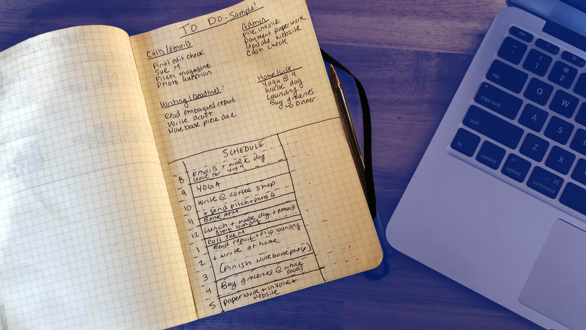 The To-Do List Method That Finally Got My Life In Order