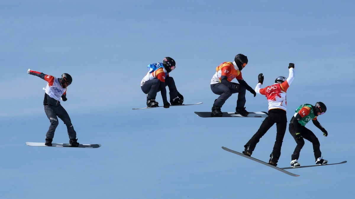 Austrian Snowboarder Breaks His Neck at Olympics