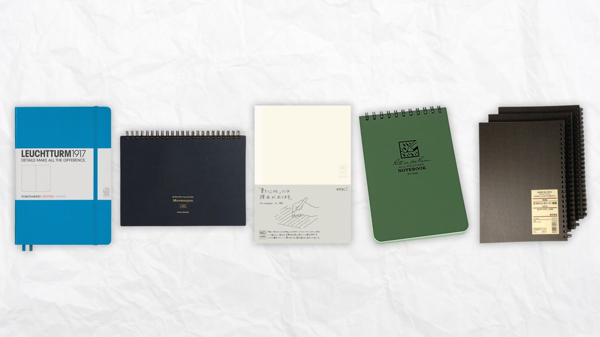 Keeping A Journal Has Real Benefits, So Choosing The Right Notebook For You Is Important