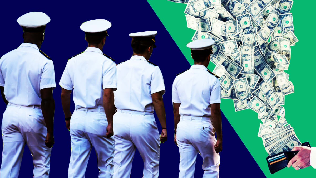 U.S. Navy Workers Are Sleeping on the Job—on Your Dime
