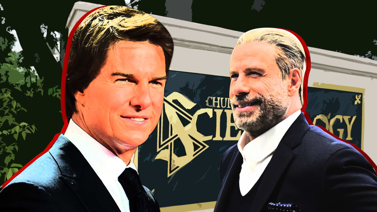Inside Tom Cruise and John Travolta's Scientology Feud