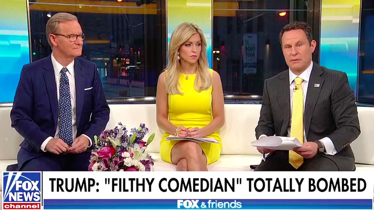 'Fox & Friends' Melts Down Over Michelle Wolf's 'X-Rated' Jokes
