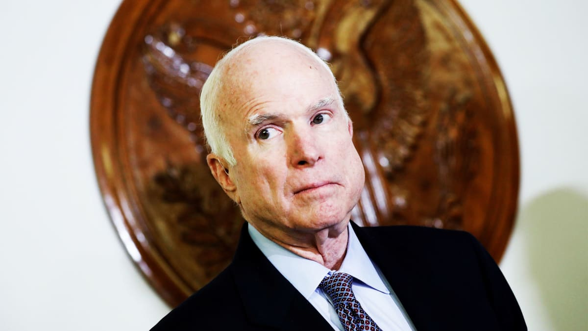 STFU, Trumpites. McCain Is 50 Times the Person You'll Ever Be