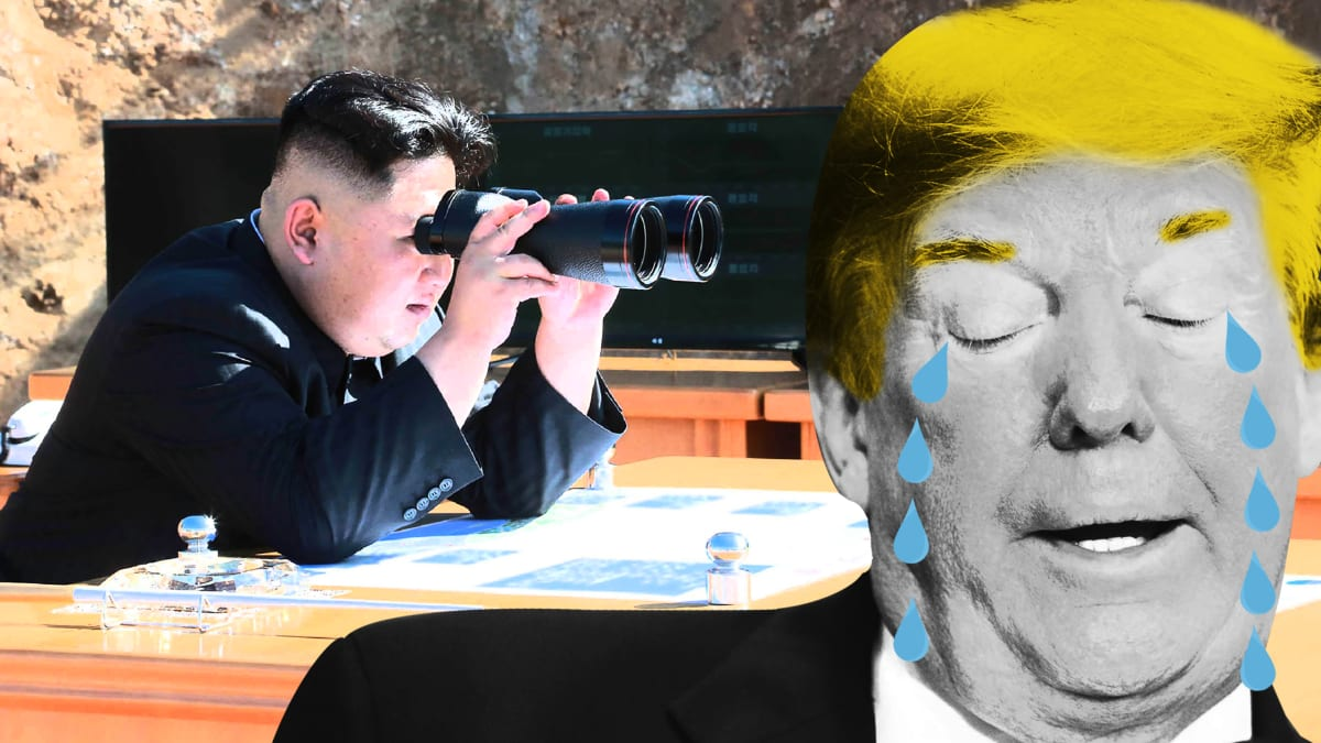 North Korea's Kim Is About to Score Big Against Trump
