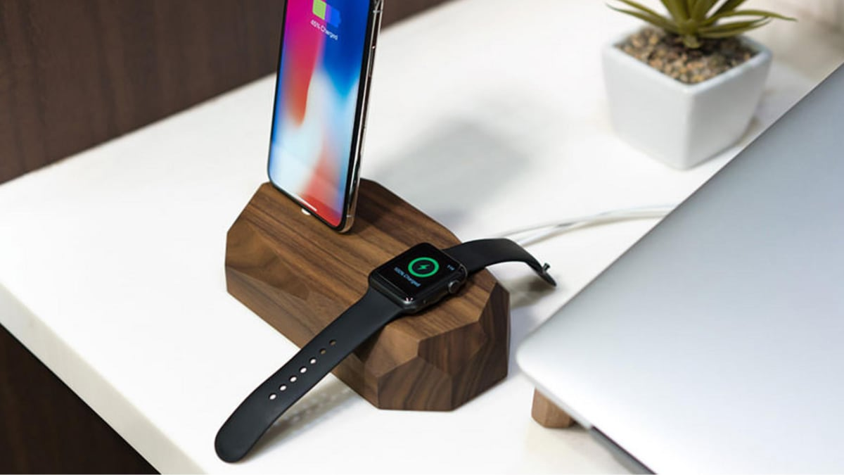 Power Up Both Your iPhone and Apple Watch With This Sleek Charging Station