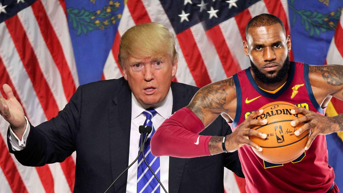 Donald Trump's Racist, Idiotic Attack on Sports Legend LeBron James