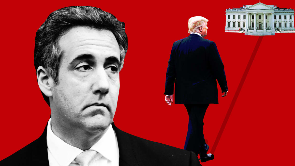 Trump Insists He's Not Mad About Michael Cohen. He Just Wants to Bury Him.