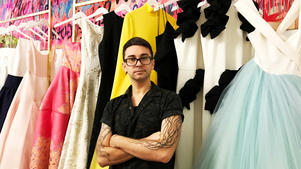 Christian Siriano On Celebrity Friends Living Hard And Not Designing For Melania Trump