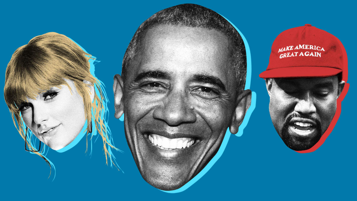 Obama Was Right About Kanye West and Taylor Swift