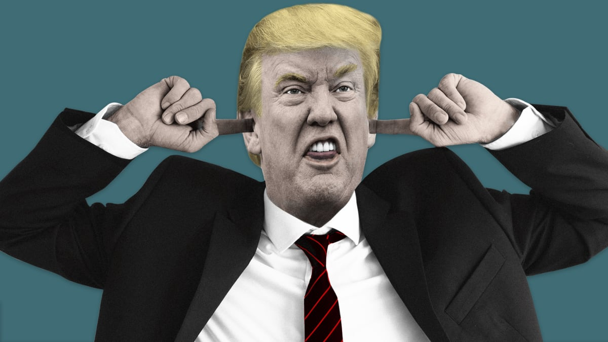 Trump: The Strongman Who Isn't Strong Enough to Handle Pain