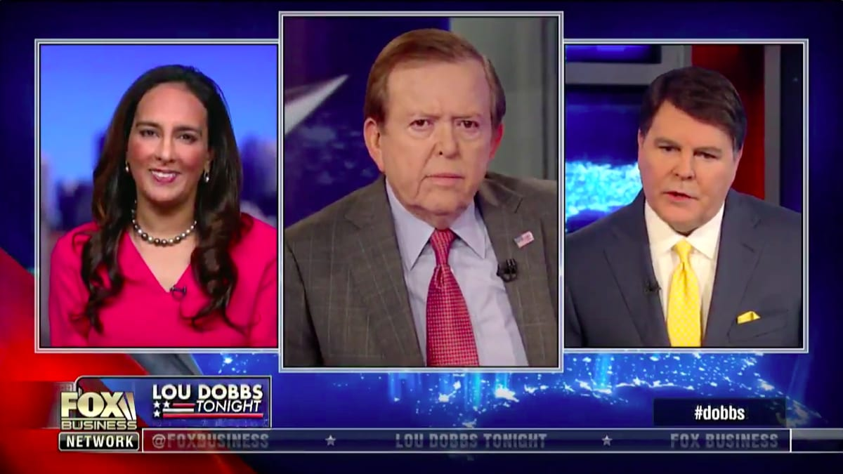 Lou Dobbs Freaks After Trump Surrenders to CNN's Jim Acosta, Says President Should Tell Judge to 'Go to Hell'