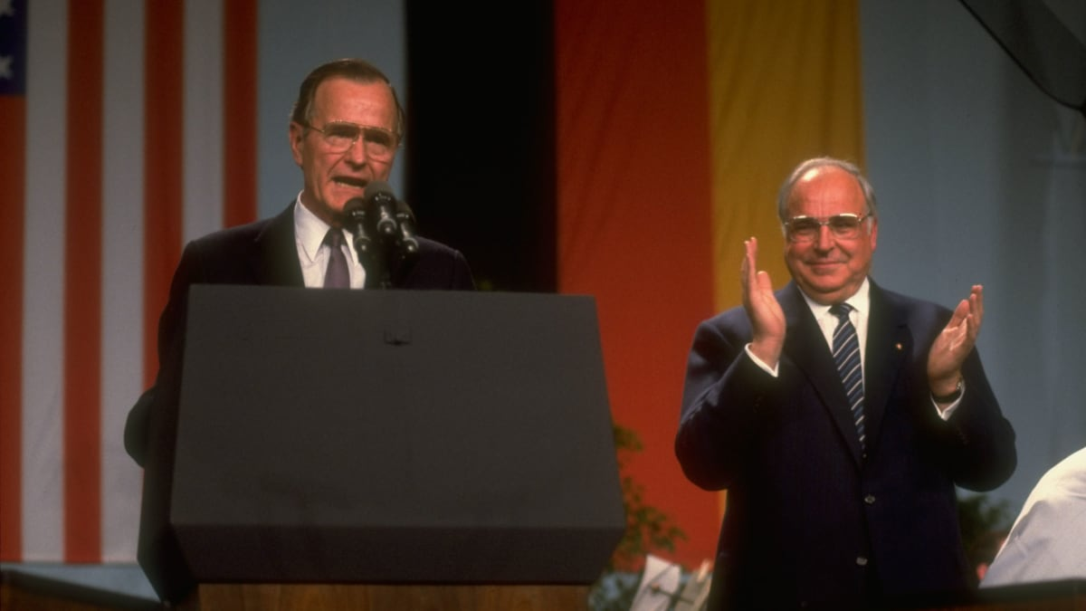 Reagan Brought Down the Berlin Wall, but It Was George H.W. Bush Who Unified Germany