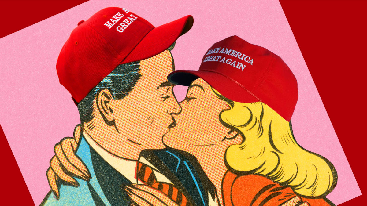 The Dating Site for Those Who Can't Get Laid Because of Their Love of Trump