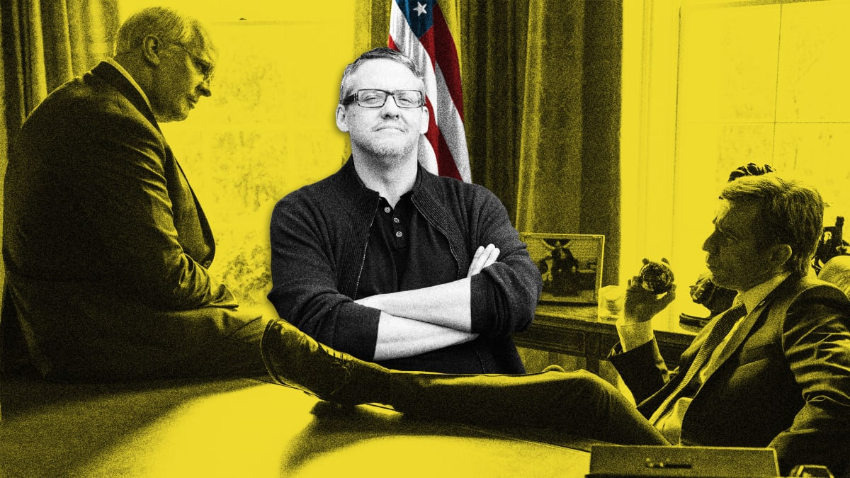 'Vice' Director Adam McKay: Trump Is 'Nowhere Near' as Bad as Cheney and Bush