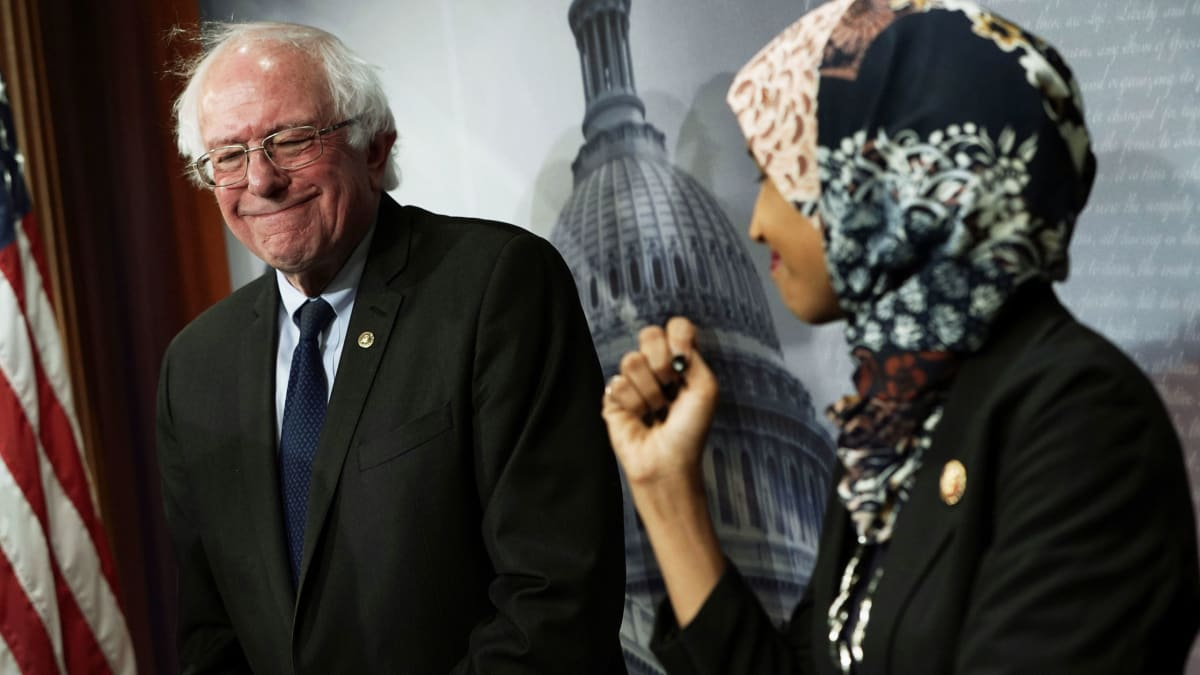 Bernie Sanders Called Ilhan Omar to Offer His Support Amid Anti-Semitism Controversy