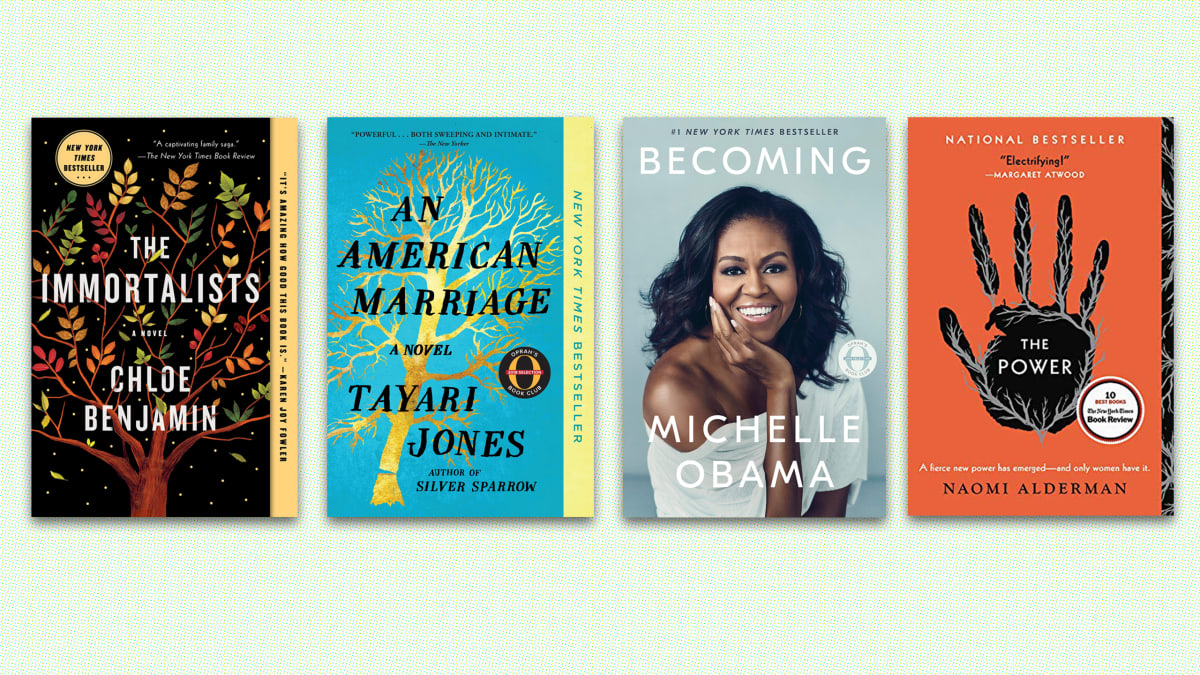 Best-Selling Books By Female Authors