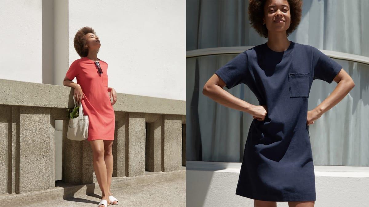 Shop the New Everlane Weekend Tee T-Shirt Dress