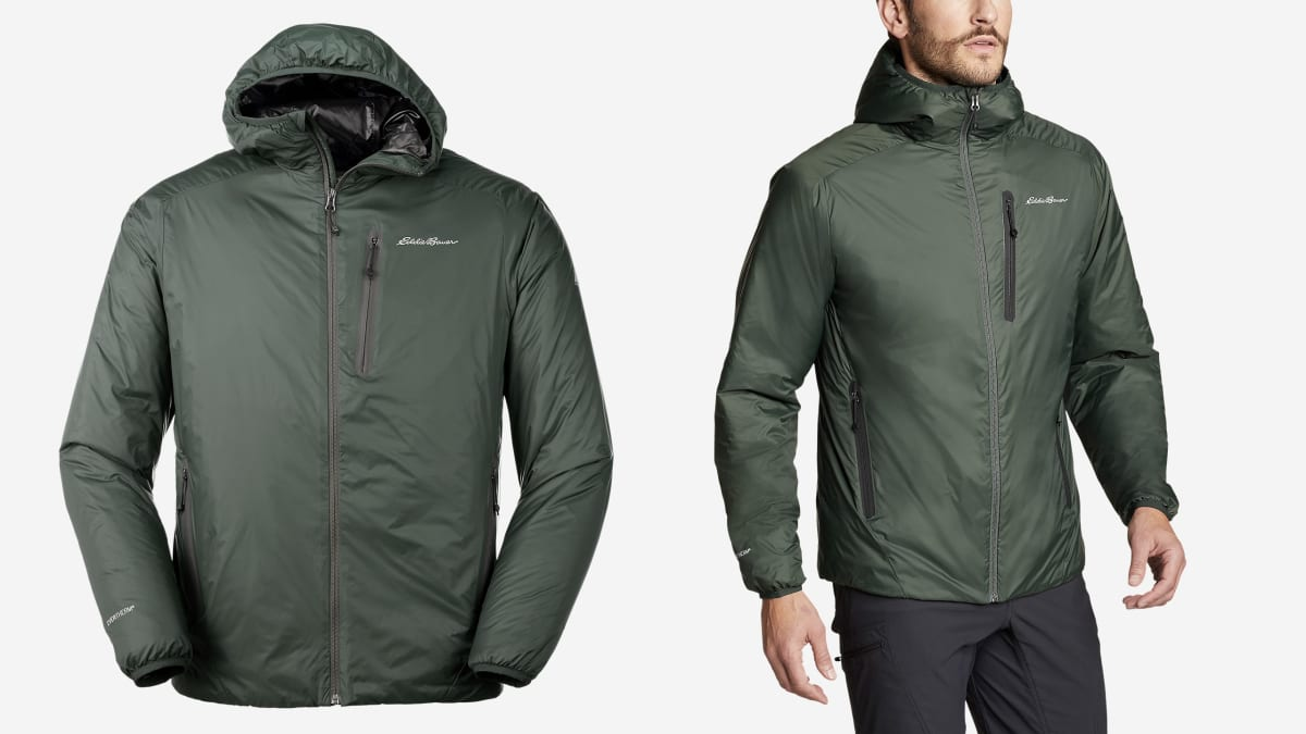 This Puffer Jacket from Eddie Bauer Is Super Warm, but It Isn't Puffy
