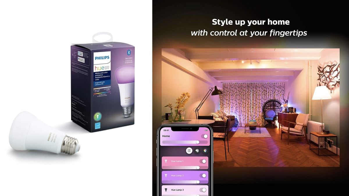 Philips Hue Connected Home Smart Bulbs For the Whole House