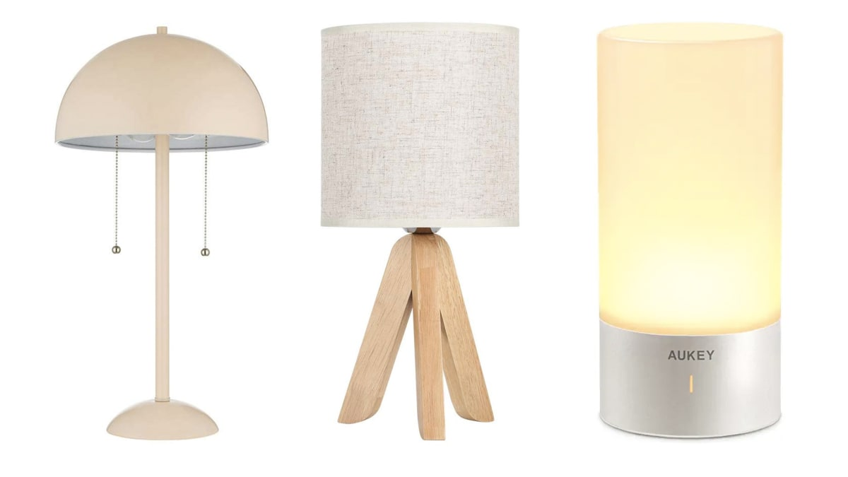 The Best Bedside Table Lamps You Can Get on Amazon