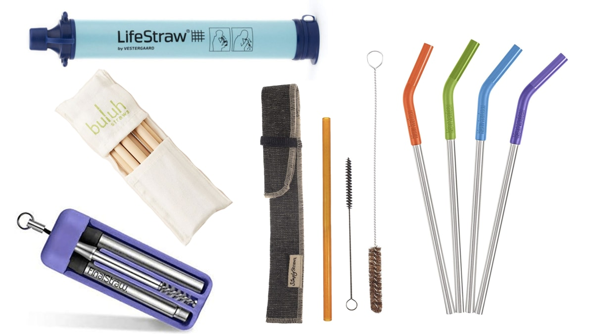 The Best Eco-Friendly Reusable Straws To Help Reduce Your Plastic Consumption
