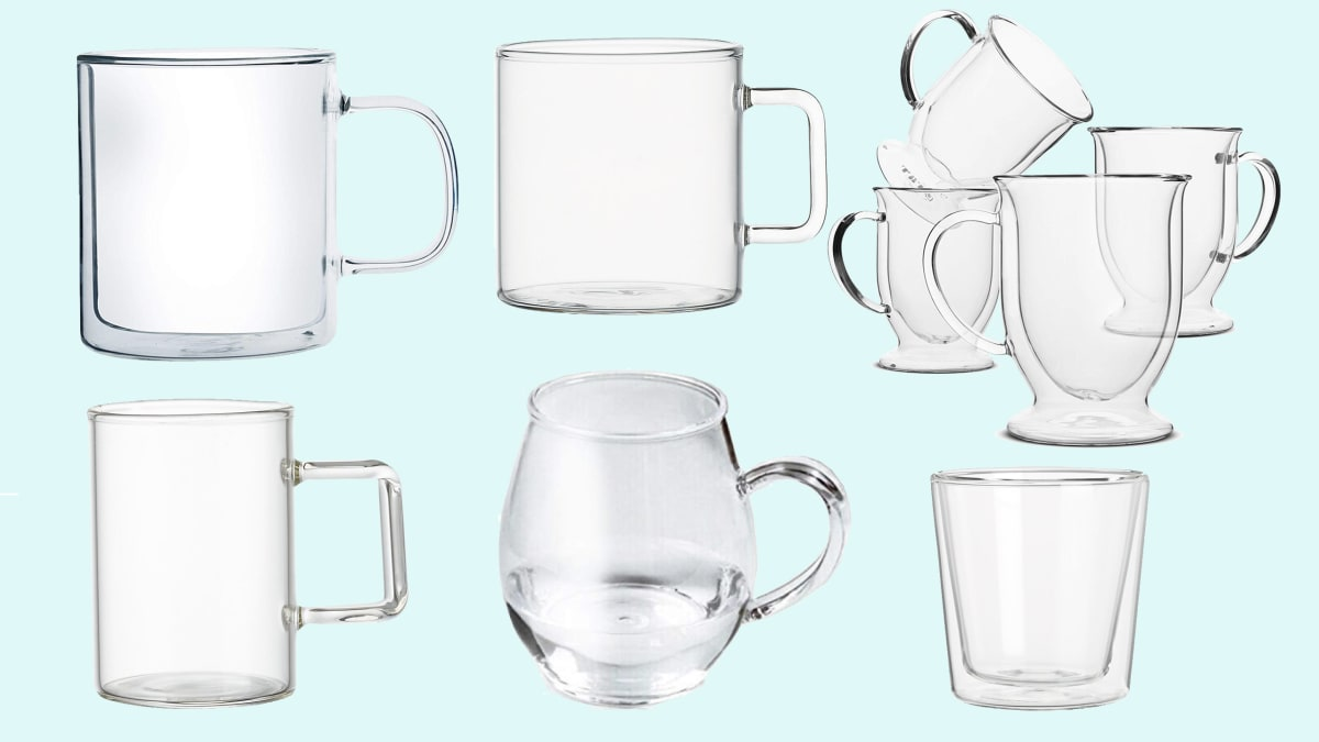 The Best Clear Glass Coffee Mugs