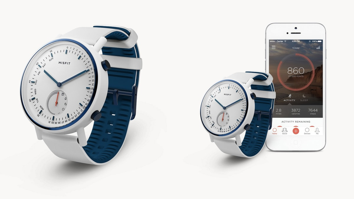 Apple Watch Users Take Note: This Misfit Watch Lasts All Year