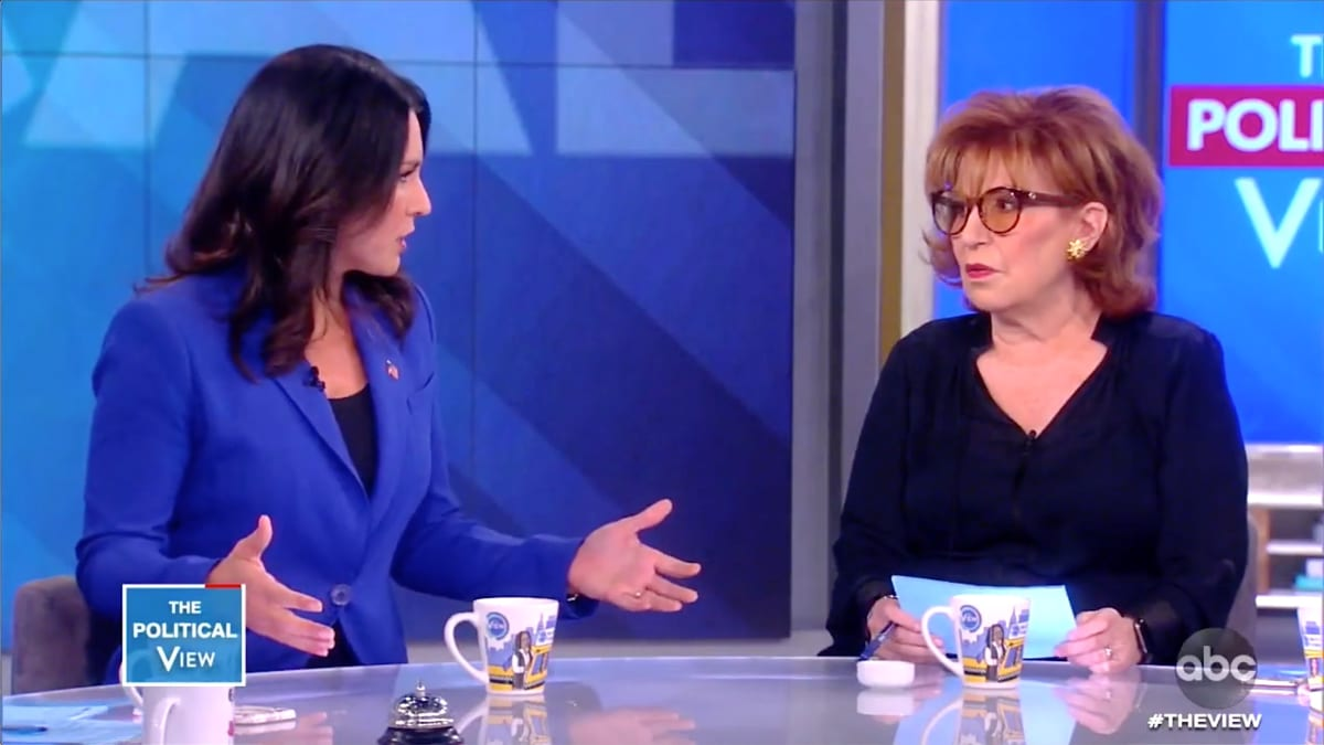 Tulsi Gabbard Clashes With 'The View's' Joy Behar: Are You Calling Me 'Stupid'?