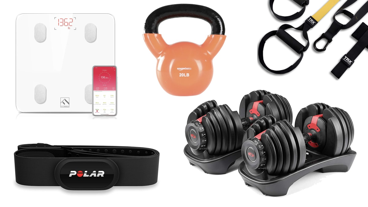Home Fitness and Exercise Products from Amazon to Help You Start a New Workout